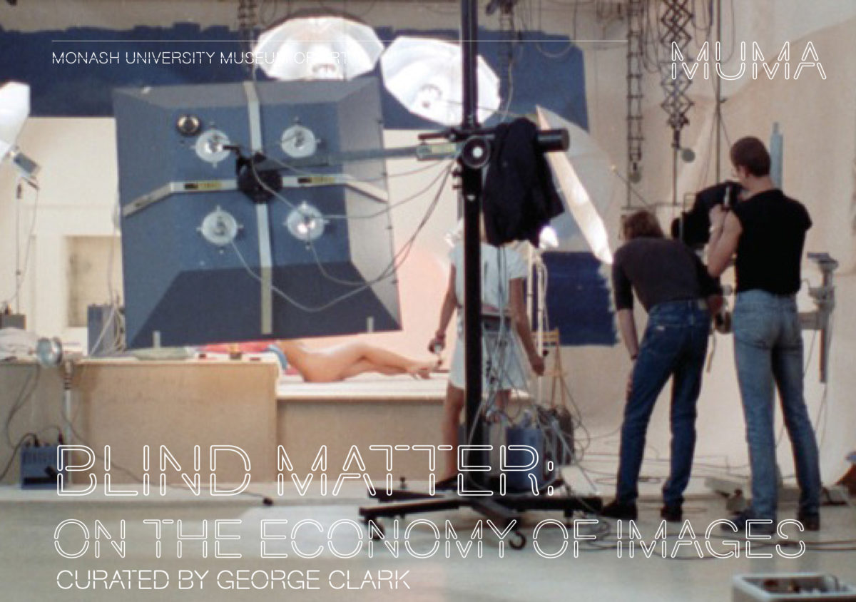 Blind Matter: On The Economy of Images