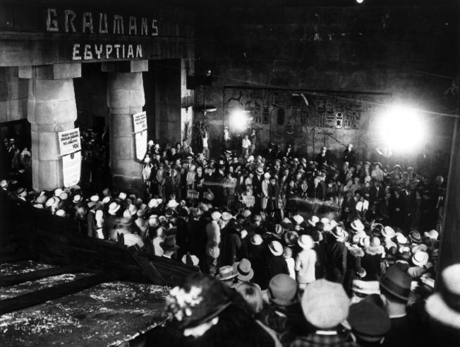 The Ten Commandments, premiere, Egyptian Theatre, December 4, 1923