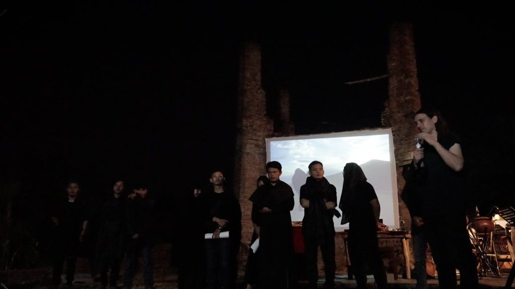 A Distant Echo, performance, Jatiwangi Art Factory, 6 August 2017