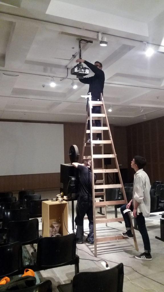 Eyemo projection, Museo de Arte Moderno de Buenos Aires