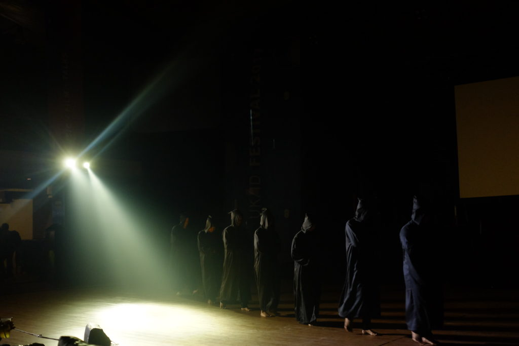 A Distant Echo performance, with Hanyaterra, UKID Festival, Oct 2017, photo by Ika Yuliana 003