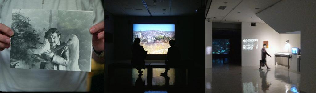 Double Ghosts installation in 2018 Taiwan Biennial: Wild Rhizome 20 Sept 2018-10 Feb 2019