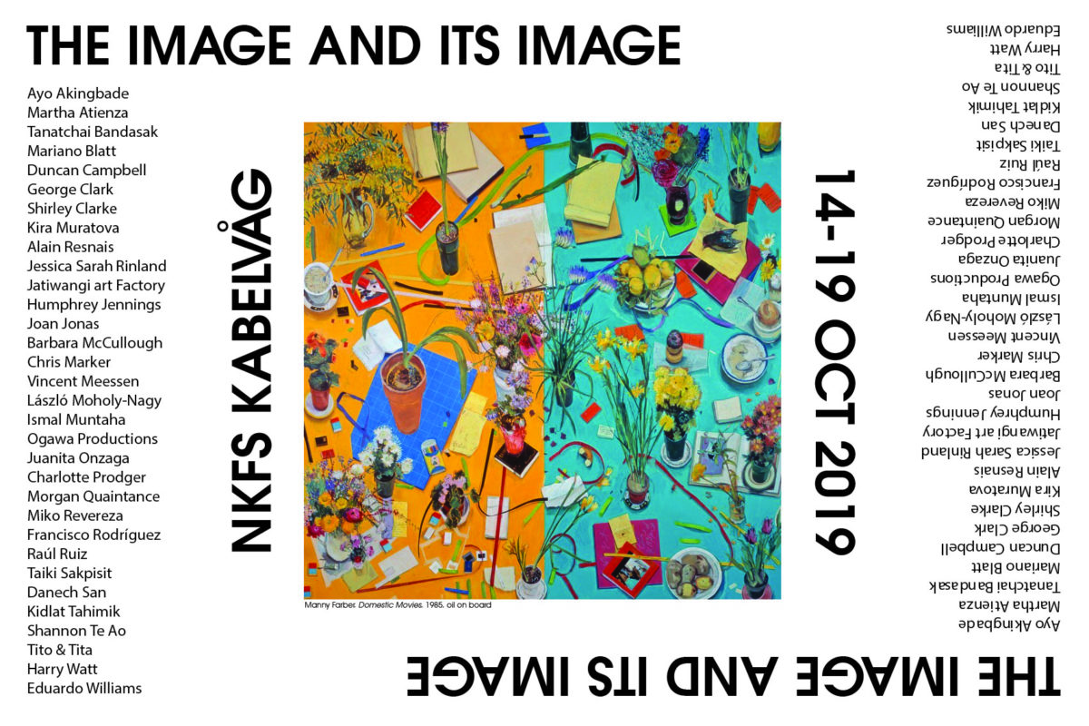 The Image and its Image, NKFS, Norway, 14-18 October 2019