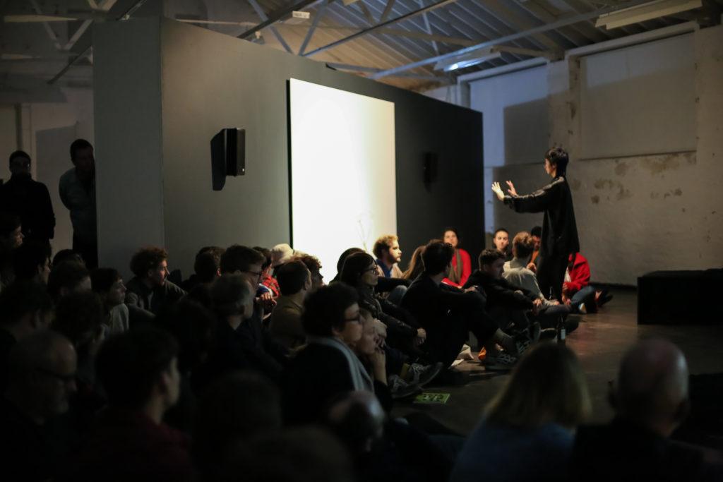lololol x George Clark performance, photo by Erika Stevenson, BFMAF 2019