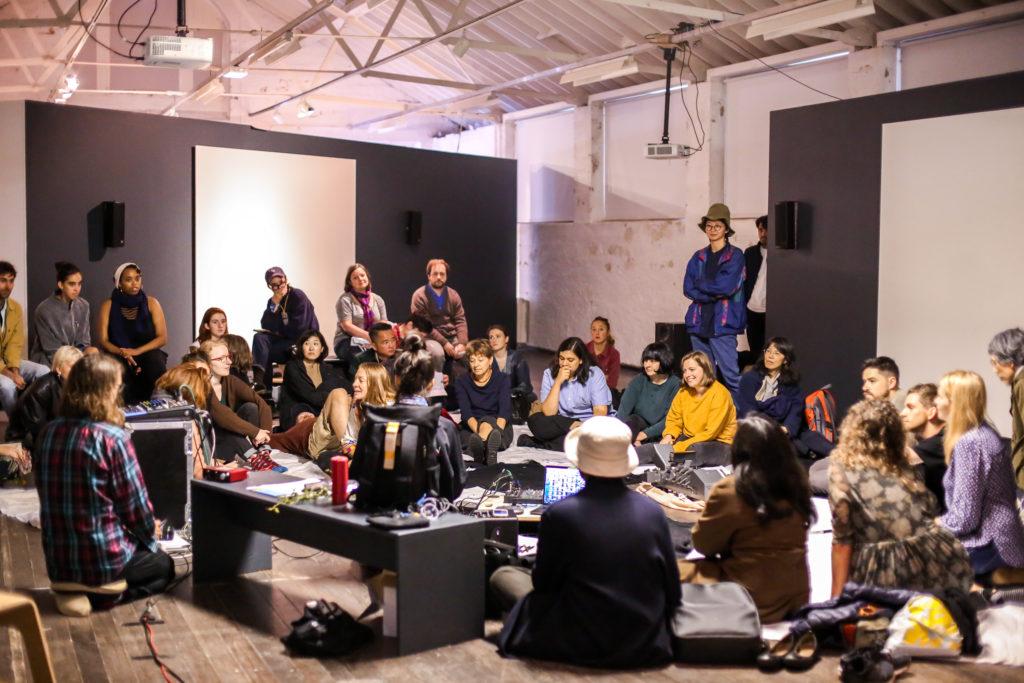 Future Tao Sound #3 Ecology, photo by Erika Stevenson, BFMAF 2019